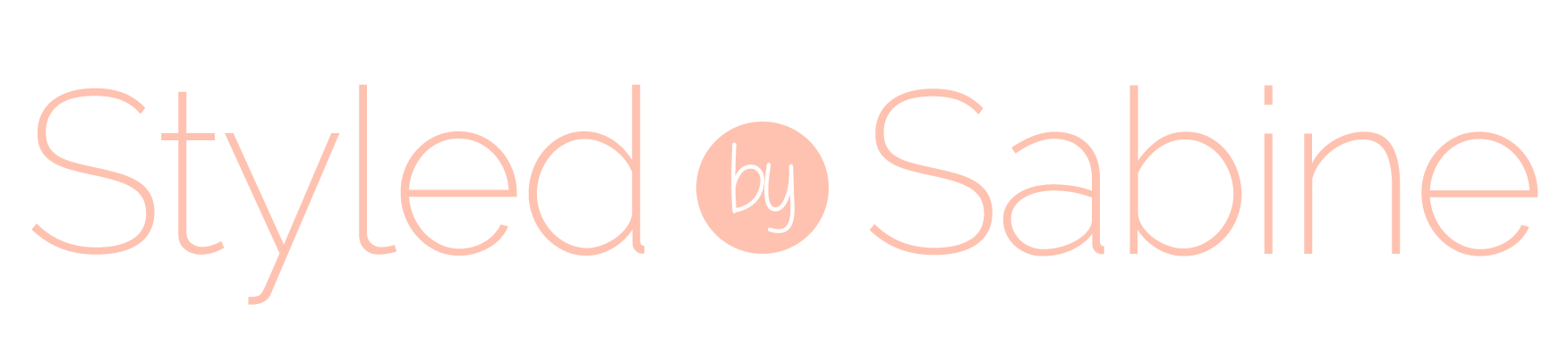 Styled by Sabine Mobile Logo
