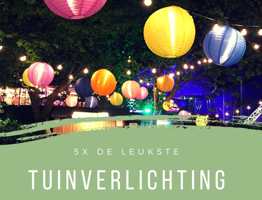 5x de leukste tuinverlichting