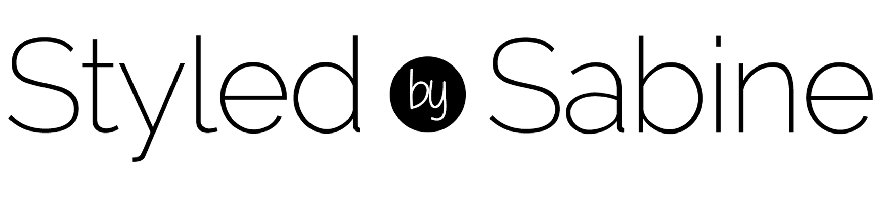 Styled by Sabine Logo