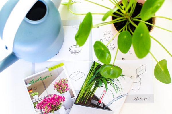 plantenpot met waterreservoir