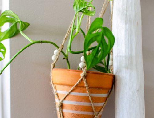 DIY macramé plantenhanger voor beginners