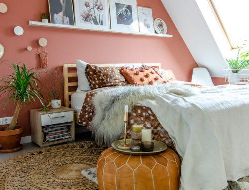 De slaapkamer kreeg een metamorfose!