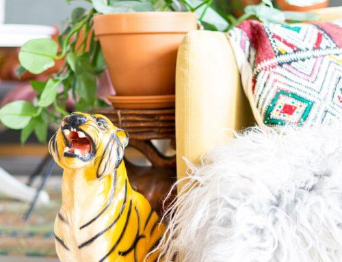Musthave: een vintage porseleinen dierenbeeld