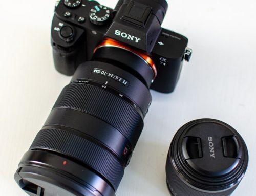 Nieuwe camera: de Sony A7 II met 24-70 mm f2.8 GM en 50 mm f1.8 lens