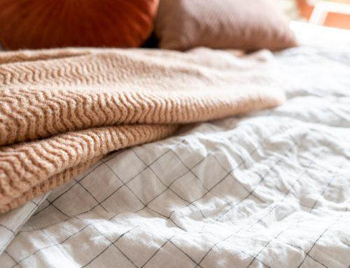 Heerlijk slapen onder een linnen dekbedovertrek