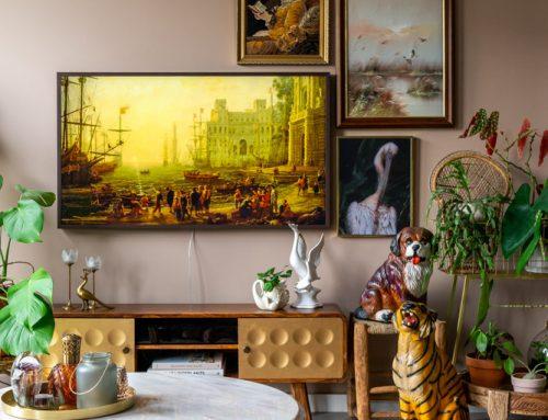 Deze tv mag gezien worden in je interieur (+ win de Samsung The Frame tv!)