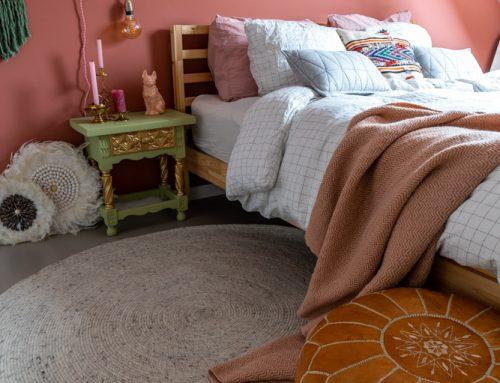 5 redenen om voor een rond vloerkleed in de slaapkamer te kiezen