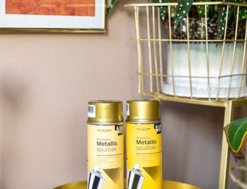 DIY: 4 interieur ideeën met gouden spraypaint of verf