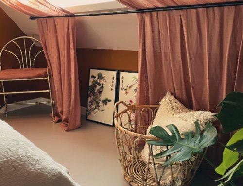 Styling-ideeën voor een schuine wand – slaapkamer make-over deel 2