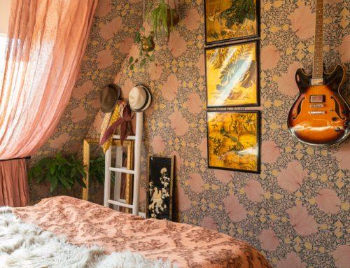Slaapkamer make-over met Karwei behang